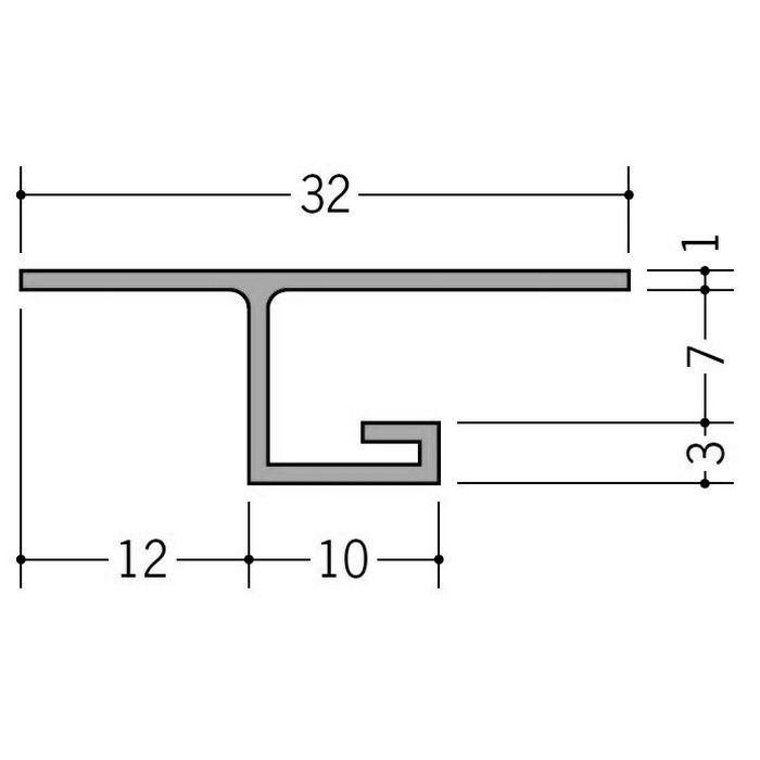 カラー見切縁 ビニール VOL-6 ベージュ 2m  35011-3