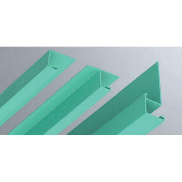 カラー見切縁 ビニール VOL-9 グリーン 2m  35013-6
