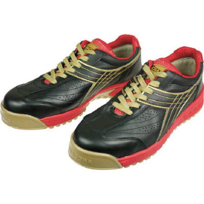 DIADORA 安全作業靴 ピーコック 黒 27.0cm PC22270