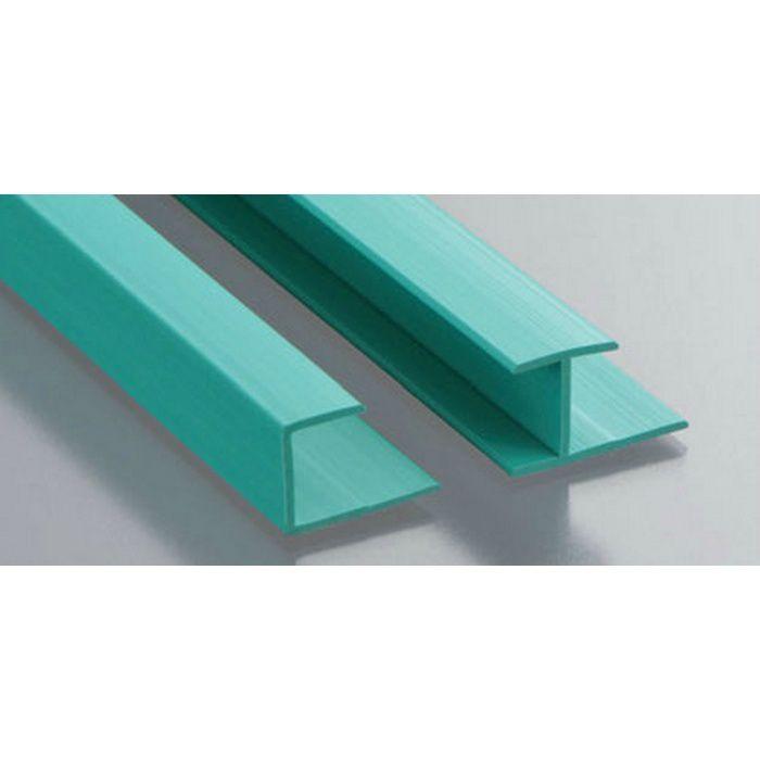 カラージョイナー コ型・H型 ビニール GC-8.5カラー グリーン 2.73m  32005-6