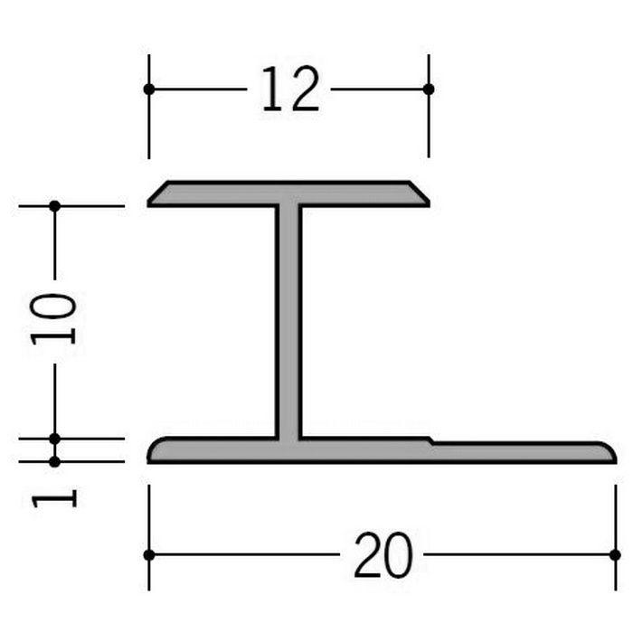 カラージョイナー コ型・H型 ビニール HG-9.5カラー ベージュ 2.73m  32013-3