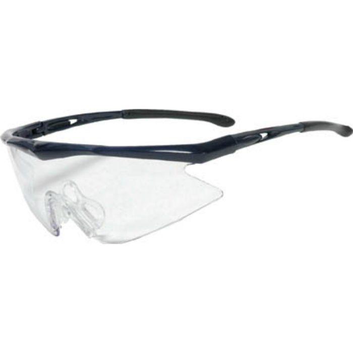 一眼型安全メガネ フレームブルー レンズクリア TSG1856BL 3658317