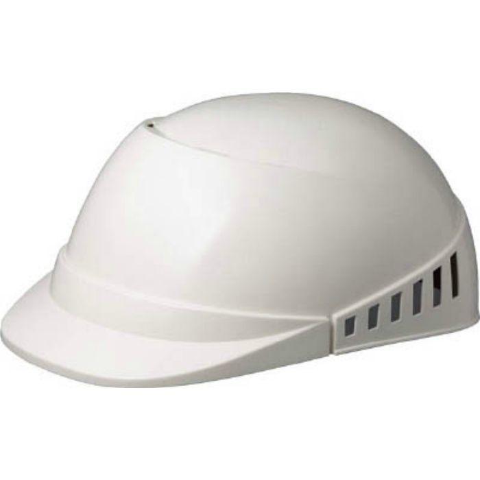 軽作業帽 通気孔付 SCL-100A ホワイト SCL100AW
