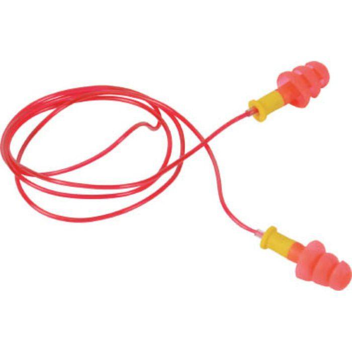 耳栓 コード付 3段フランジタイプ 25dB TEF25H 4455665