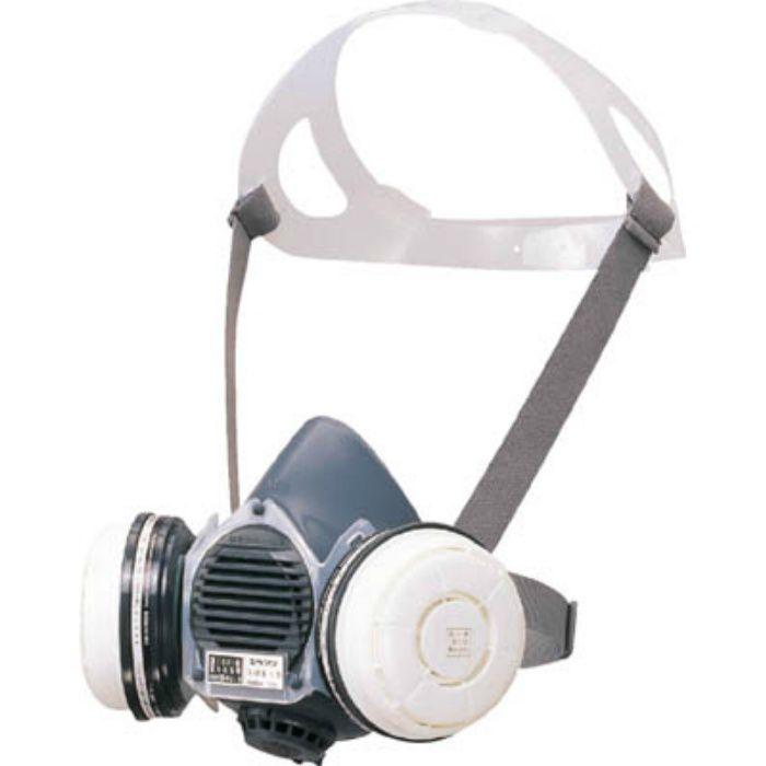 防毒マスク吸収缶面体 GM81SMS
