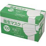 IRIS 衛生マスク100P 耳掛けタイプ EMN-100PEL EMN100PEL