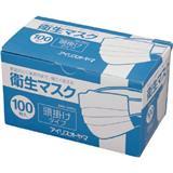 IRIS 衛生マスク100P 頭掛けタイプ EMN-100PHL EMN100PHL