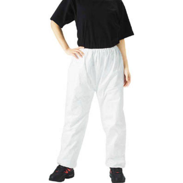 TRUSCO タイベック製作業服 ズボン XL DPM301 3363554