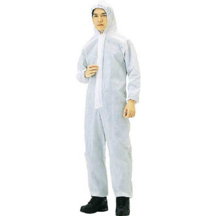 TRUSCO まとめ買い 不織布使い捨て保護服M 40入 TPCM40 4880226