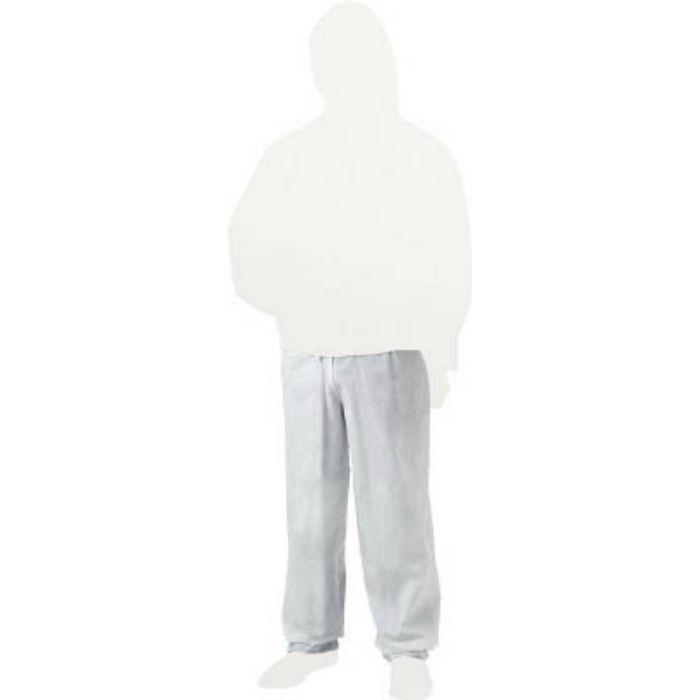 TRUSCO 不織布使い捨て保護服ズボン 3Lサイズ TPCZ3L 3631168