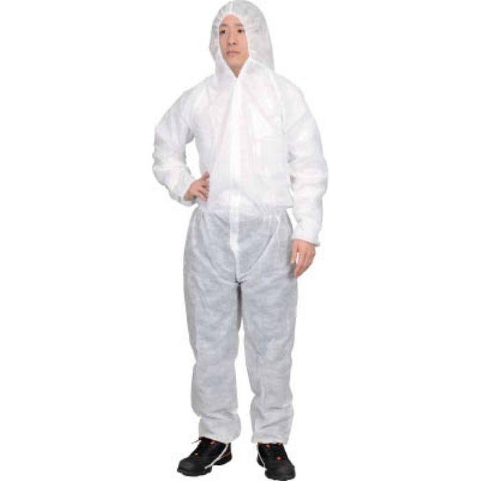 TRUSCO まとめ買い 保護服(1層タイプ) Mサイズ 50着入 TPSBM 7630361