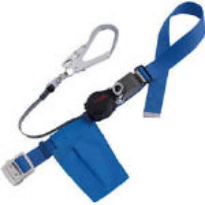ツヨロン ワンハンドリトライト安全帯 青 ORL593SVBL4BP  ※在庫お確かめください