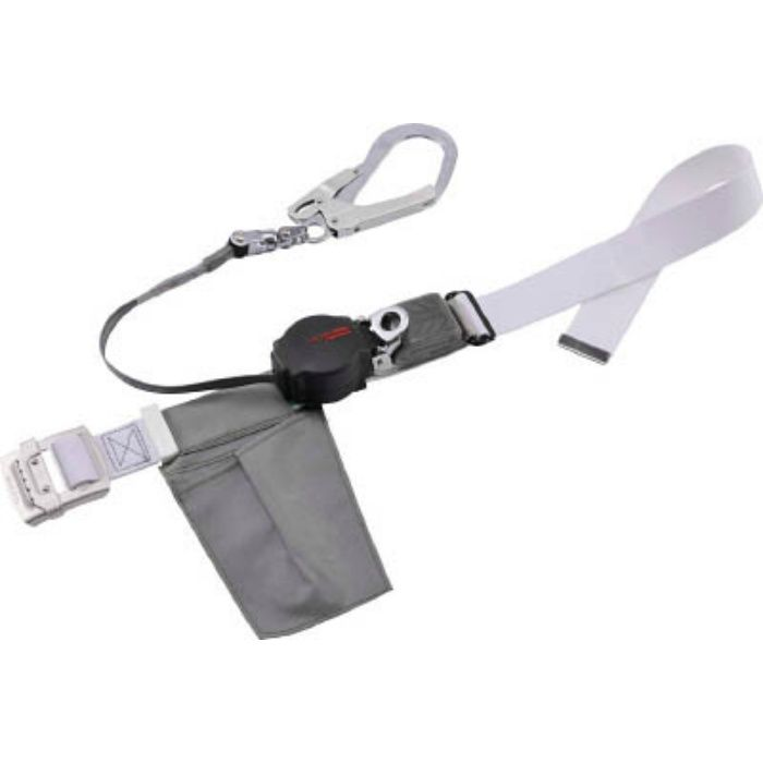 ツヨロン なでしこ安全帯 ワンハンドリトラ 白色 SS寸 ORL593SVWSSBP  ※在庫お確かめください