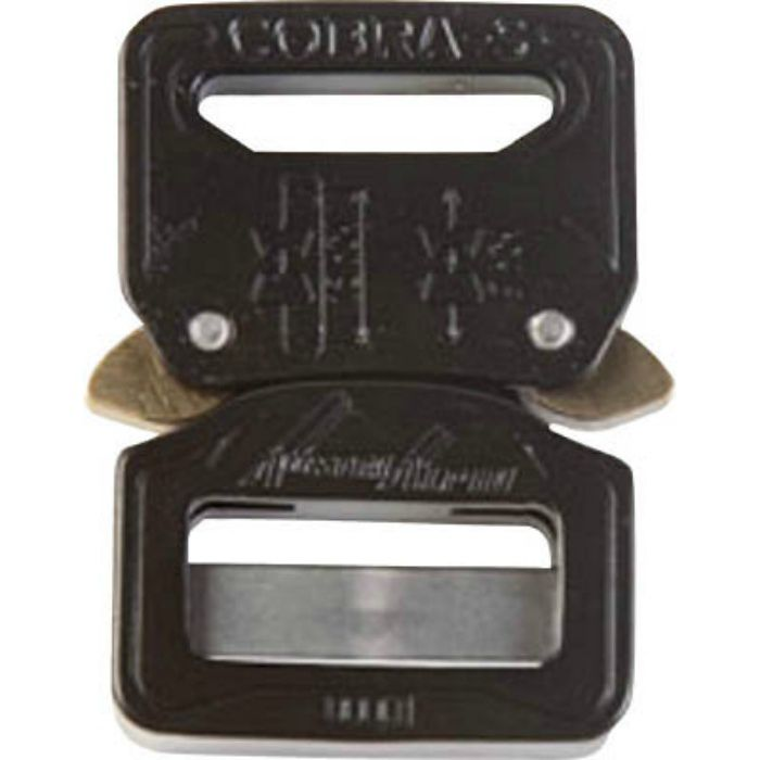 ALPIN COBRA バックル 25MM シルバー FC25AVF ※在庫お確かめください