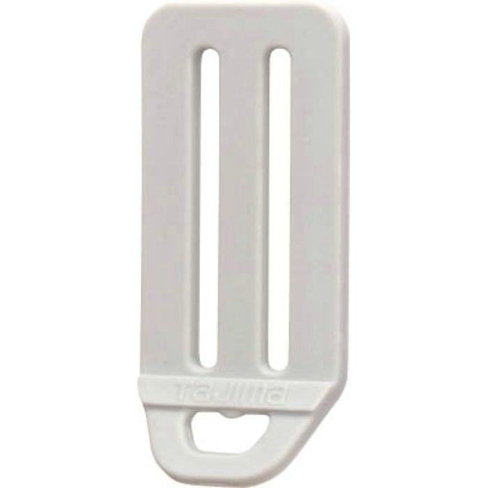 タジマ タジマ安全帯 L型D環止め 樹脂2穴・シルバー TALPD2SI  ※在庫お確かめください