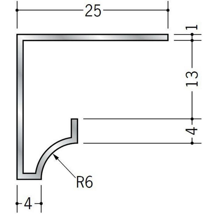 コ型見切縁 アルミ RSA-12 シルバー 3m  52004