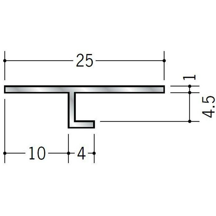 目透かし型見切縁 アルミ ATV-4 シルバー 3m  50048