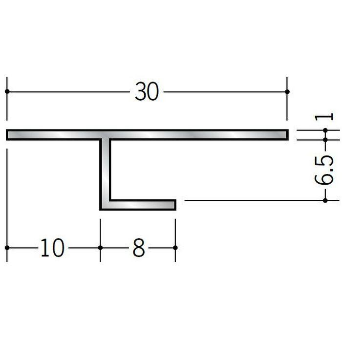 目透かし型見切縁 アルミ ATE-6 シルバー 3m  50054