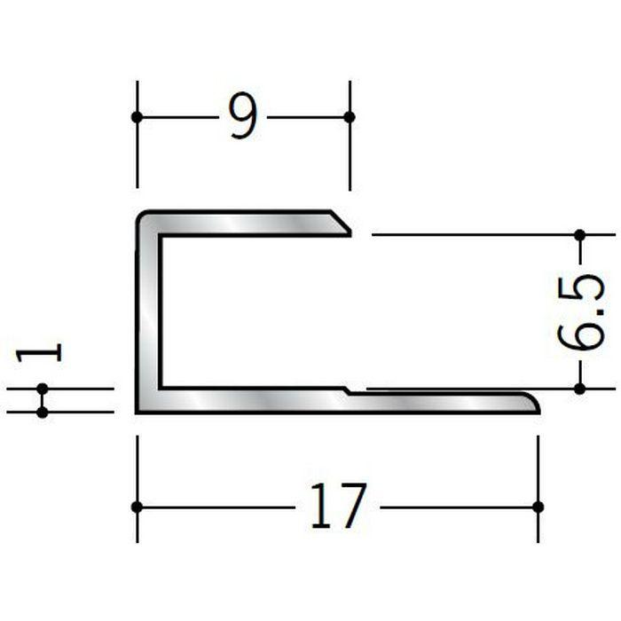 コ型ジョイナー アルミ 6.5CS シルバー 2.73m  54017-3
