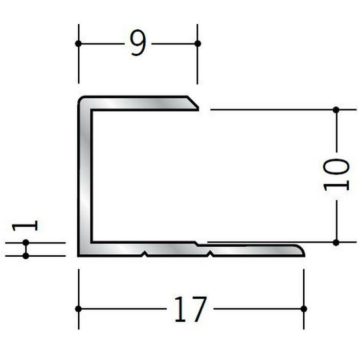 コ型ジョイナー アルミ 9.5CS シルバー 2.73m  54013-2