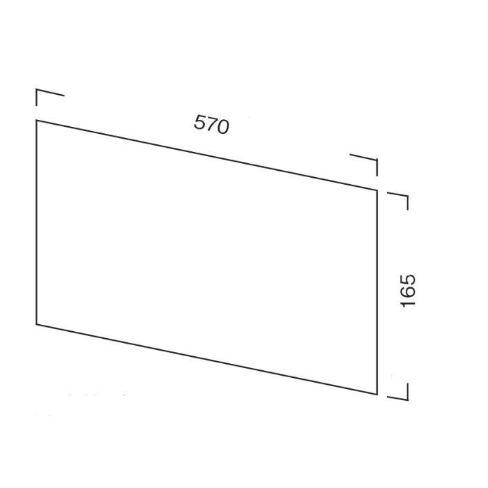 サイドガード S2用 L570mm×H165mm