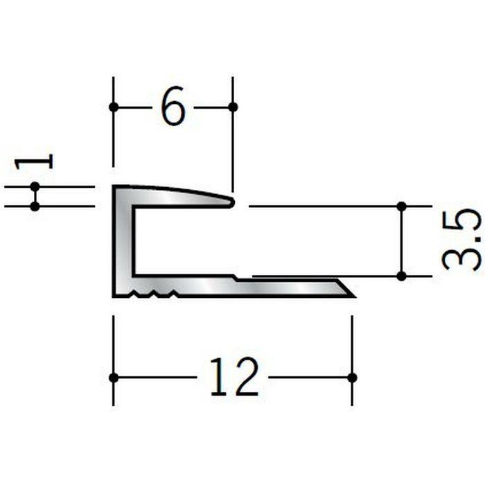 コ型ジョイナー アルミ 3CA シルバー 2.73m  54081-3