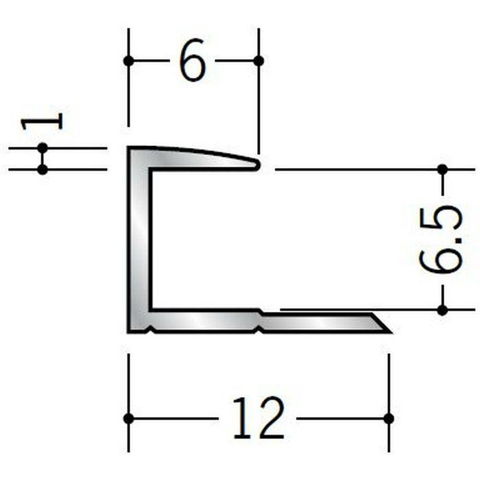 コ型ジョイナー アルミ 6CA シルバー 2.42m  54084-2