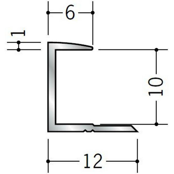コ型ジョイナー アルミ 9CA シルバー 1.82m  54087-1