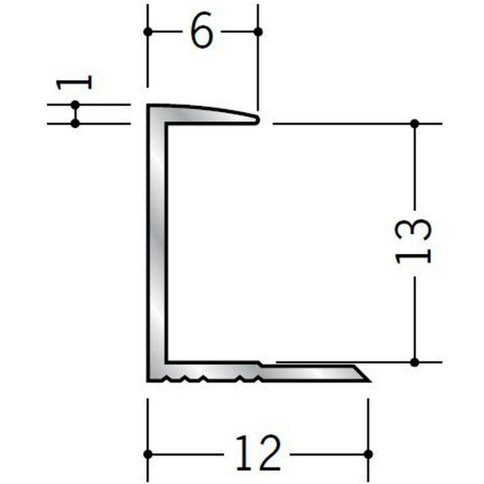 コ型ジョイナー アルミ 12CA シルバー 2.73m  54089-2