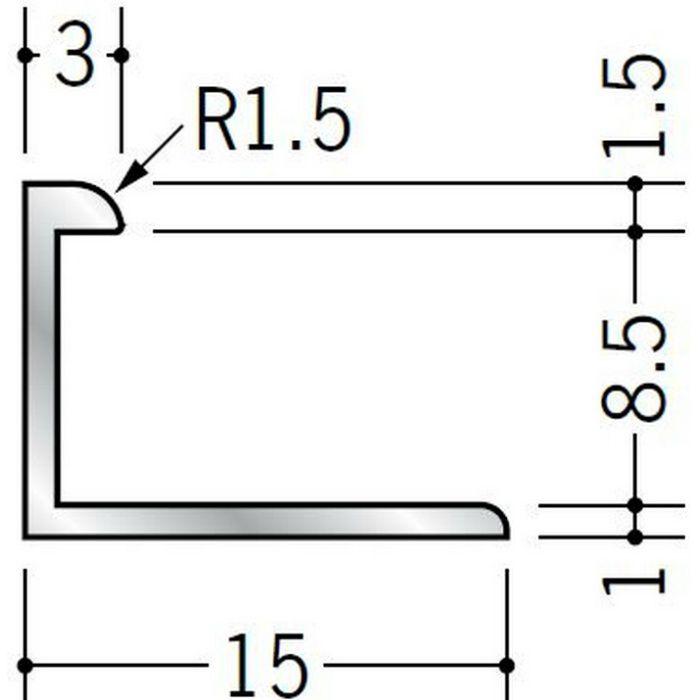 コ型ジョイナー アルミ 8BC シルバー 2.73m  54180
