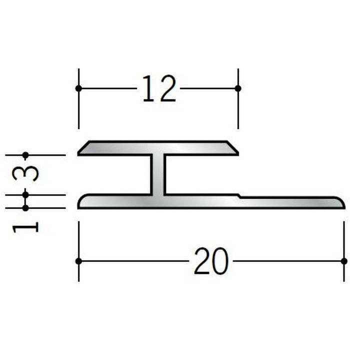 H型ジョイナー アルミ 3HS シルバー 2.73m  54051-2