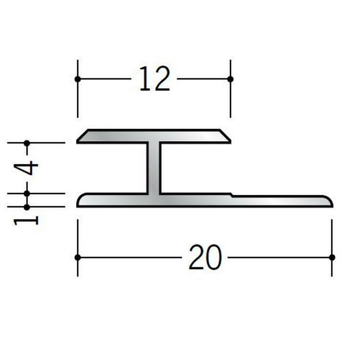 H型ジョイナー アルミ 4ゼロHS シルバー 1.82m  54036-1