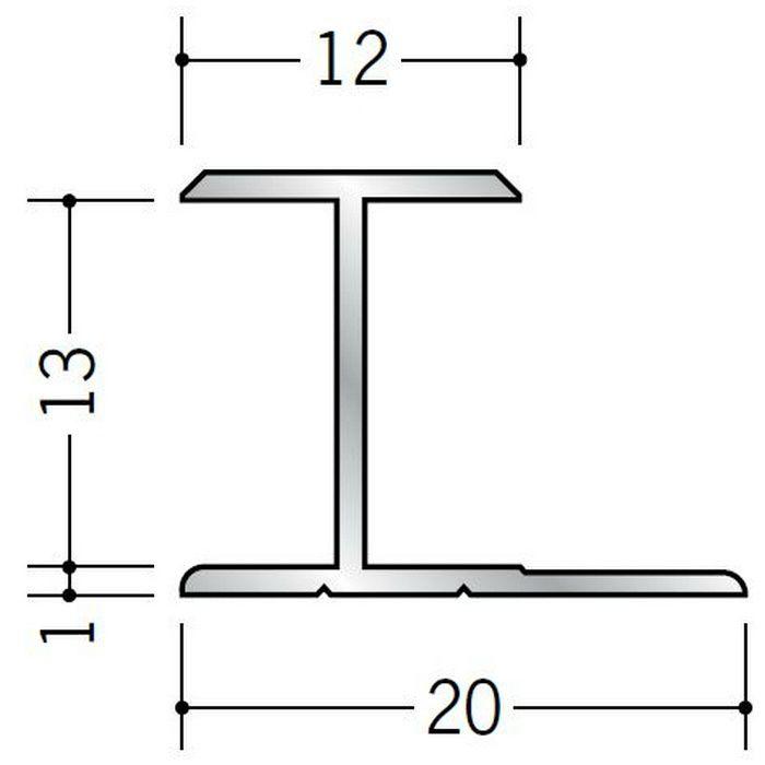 H型ジョイナー アルミ 12.5HS シルバー 2.73m  54062-2