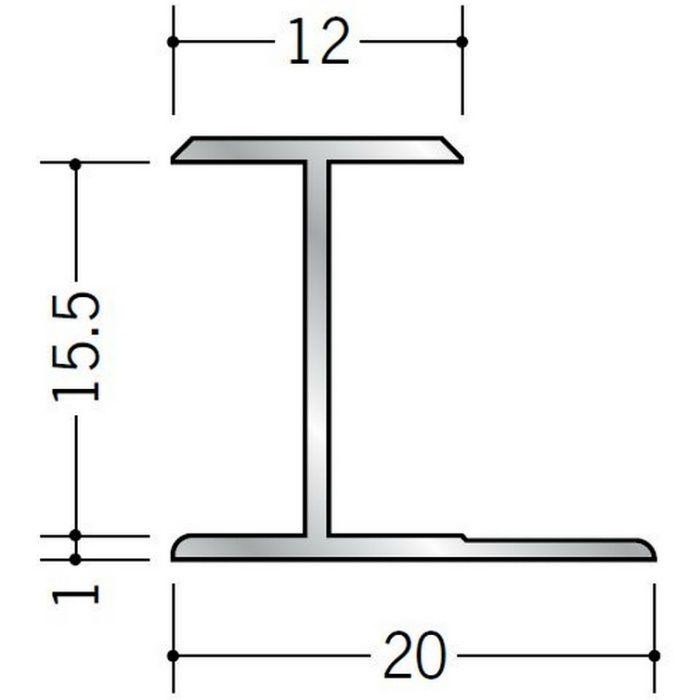 H型ジョイナー アルミ 15.5HS シルバー 1.82m  54063-1