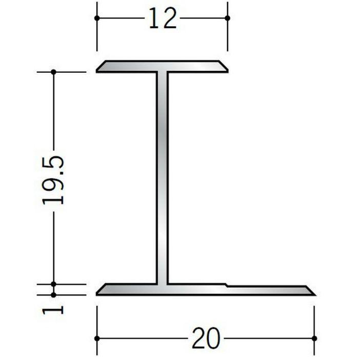 H型ジョイナー アルミ 19.5HS シルバー 2.73m  54065-2