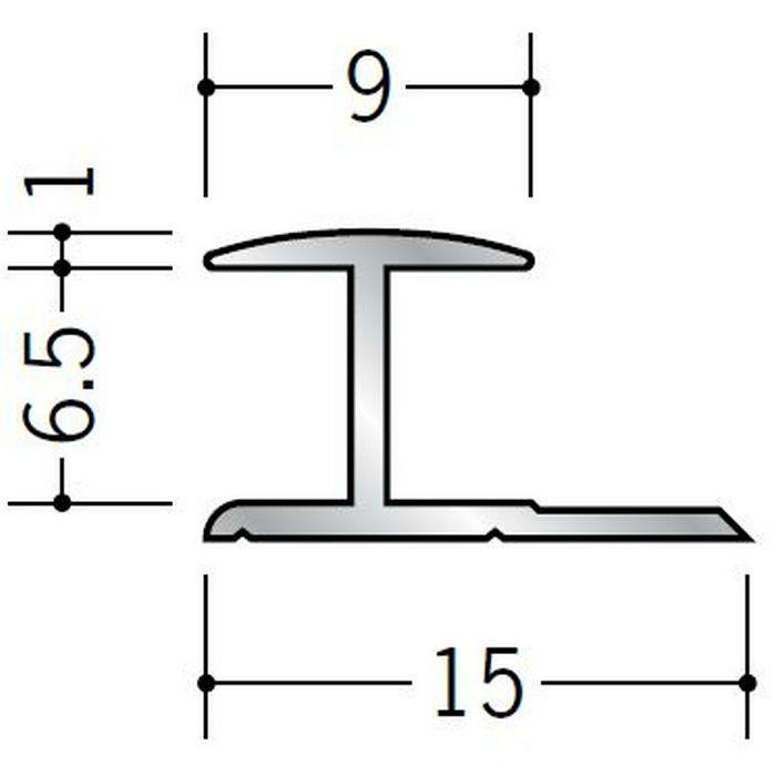 H型ジョイナー アルミ 6HA シルバー 2.42m  54094-2