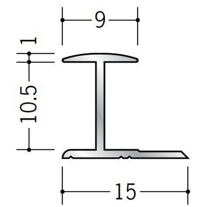H型ジョイナー アルミ 10HA シルバー 2.73m  54098-2