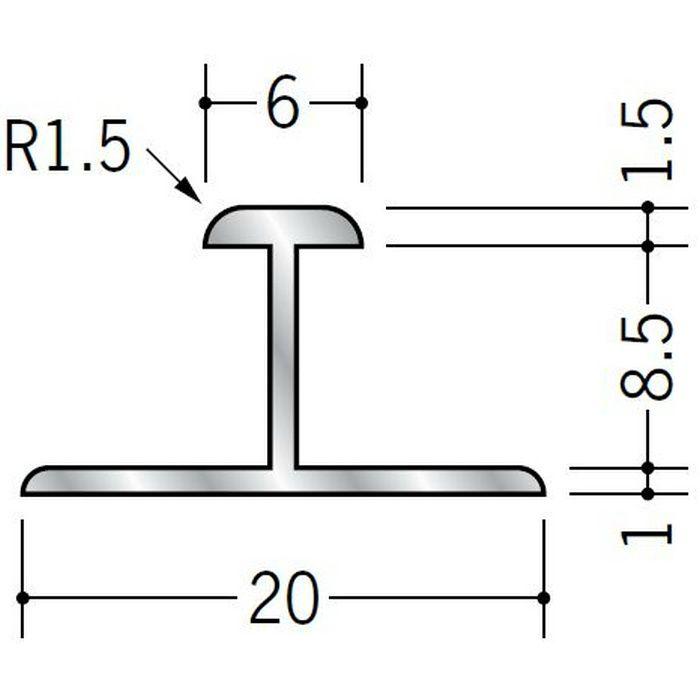 H型ジョイナー アルミ ACH-8.5 シルバー 2.73m  53264