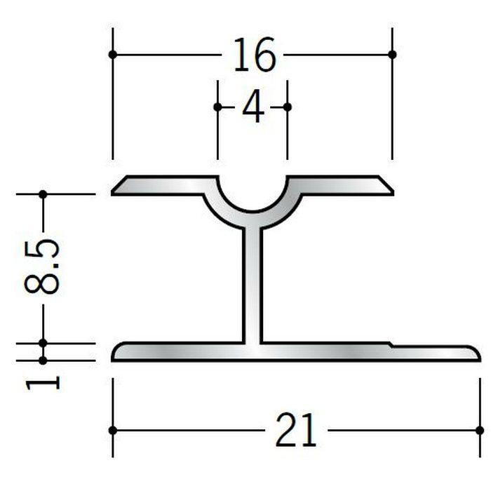 H型ジョイナー アルミ BH-800 シルバー 3m  53108