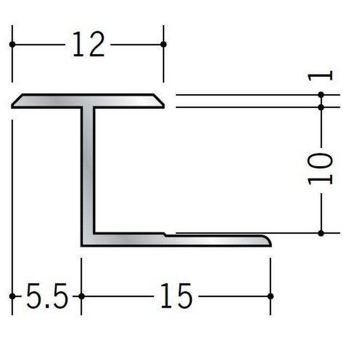 H型ジョイナー アルミ 9.5JH シルバー 2.73m  54144