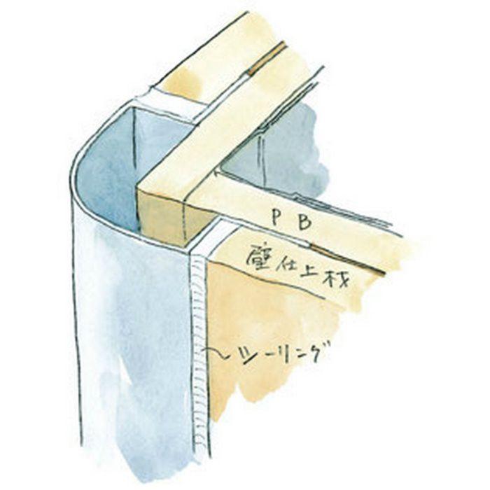 出隅ジョイナー アルミ タコ20-15 シルバー 2.73m  50019