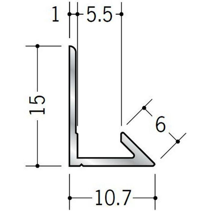 入隅ジョイナー アルミ ム型5.5 シルバー 2.73m  55004