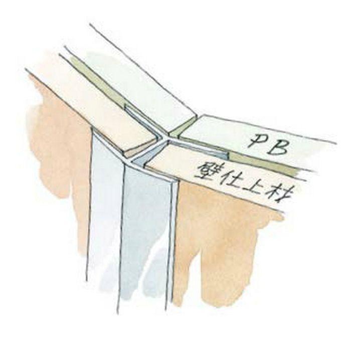 角度付ジョイナー 出隅 アルミ D135-15 シルバー 2.73m  52010