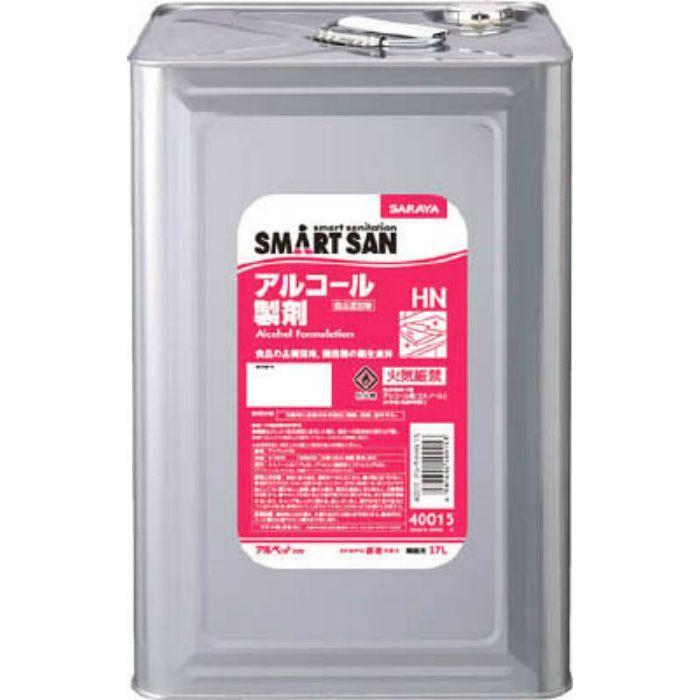 SMART SAN食品添加物アルコール製剤 アルペットHN 17L 40015