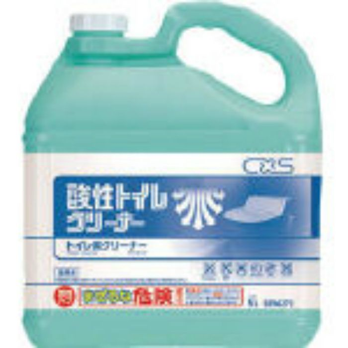 洗浄剤 酸性トイレクリーナー 5L 5996273