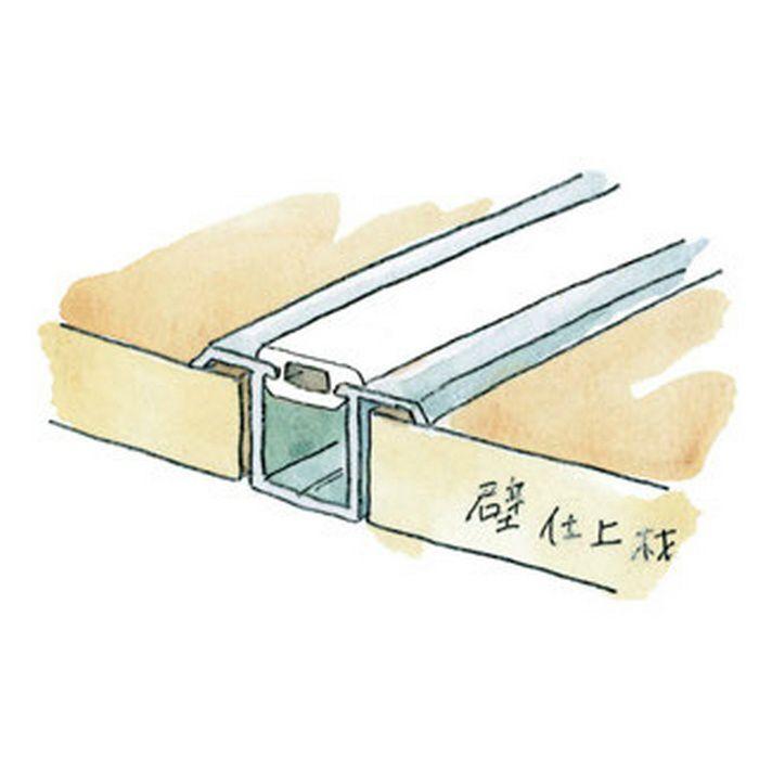 ハット型ジョイナー アルミ 軟質キャップ m販売 ベージュ   53099-4