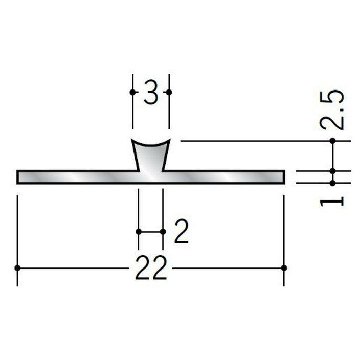 T型ジョイナー アルミ WBT-303 シルバー 2.73m  53511