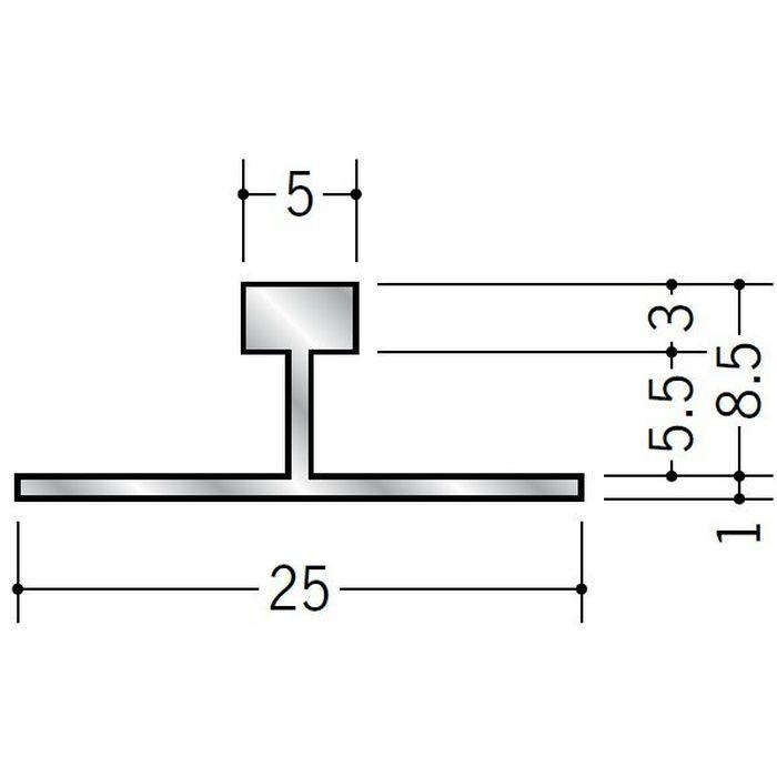 T型ジョイナー アルミ WBA-508 シルバー 3m  58232