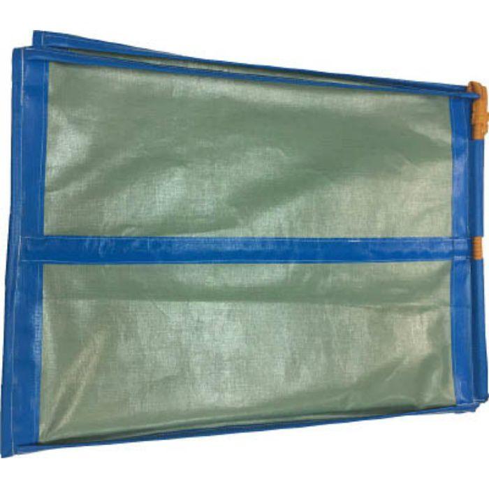 WF01 収集袋 フレコンスタンド 830×830×1100 グリーン