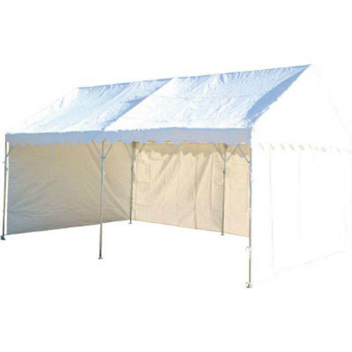 NHTS53S 防災用テント 2間X4間 三方幕付